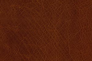 Distressed Chestnut Buffalo Leather Swatch