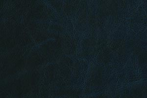 Distressed Marine Blue Buffalo Leather Swatch