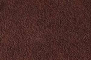 Ranch Bootleg Brown Buffalo Leather Swatch